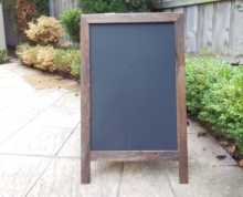Chalkboard on A frame